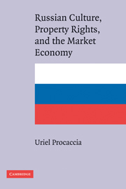 Russian Culture, Property Rights, and the Market Economy