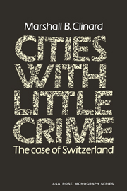 Cities with Little Crime