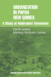Urbanization in Papua New Guinea
