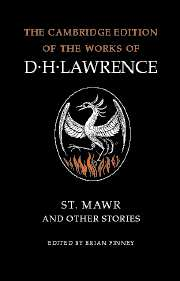 St Mawr and Other Stories