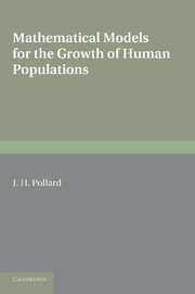 Mathematical Models for the Growth of Human Populations