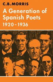 A Generation of Spanish Poets 1920–1936