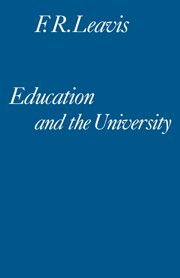 Education and the University