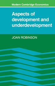 Aspects of Development and Underdevelopment