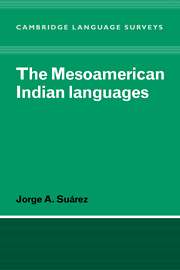 The Mesoamerican Indian Languages
