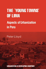 The 'young towns' of Lima