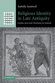 Religious Identity in Late Antiquity