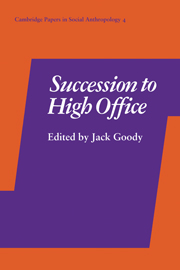 Succession to High Office