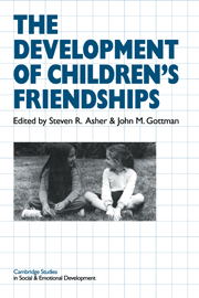The Development of Children's Friendships