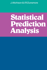 Statistical Prediction Analysis