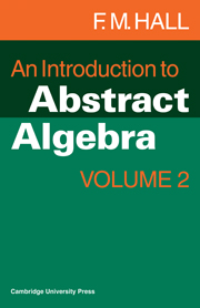 An Introduction to Abstract Algebra