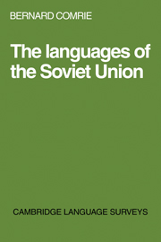 The Languages of the Soviet Union