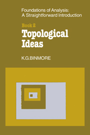 The Foundations of Topological Analysis: A Straightforward Introduction