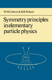 Symmetry Principles Particle Physics