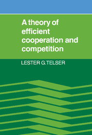 A Theory of Efficient Cooperation and Competition