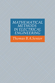 Mathematical Methods in Electrical Engineering