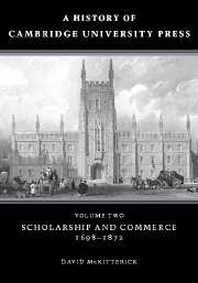 A History of Cambridge University Press