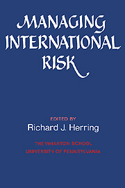 Managing International Risk