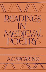 Readings in Medieval Poetry