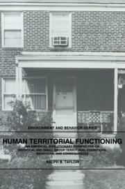 Human Territorial Functioning
