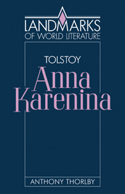 Tolstoy: Anna Karenina