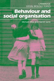 Behaviour and Social Organisation