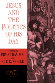 Jesus and the Politics of his Day