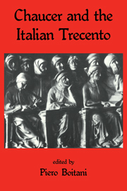 Chaucer and the Italian Trecento