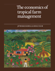 The Economics of Tropical Farm Management