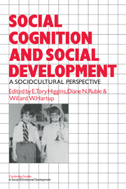 Social Cognition and Social Development