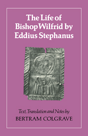 The Life of Bishop Wilfrid