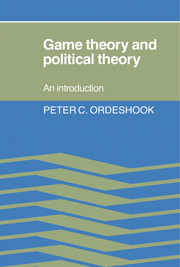 Game Theory and Political Theory