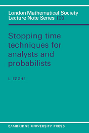 Stopping Time Techniques for Analysts and Probabilists