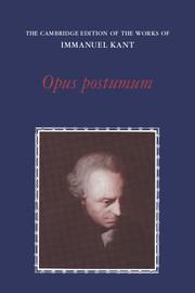 Opus Postumum