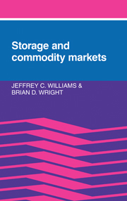 Storage and Commodity Markets