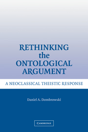 Rethinking the Ontological Argument