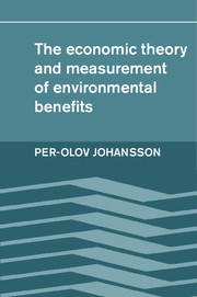 The Economic Theory and Measurement of Environmental Benefits