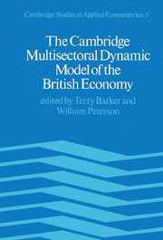 Cambridge Studies in Applied Econometrics
