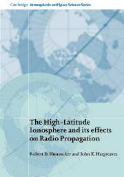 The High-Latitude Ionosphere and its Effects on Radio Propagation