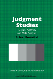 Judgment Studies
