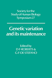 Genetic Variation and its Maintenance