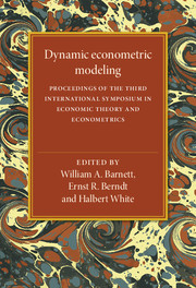 Dynamic Econometric Modeling