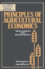 Principles of Agricultural Economics