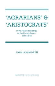 'Agrarians' and 'Aristocrats'