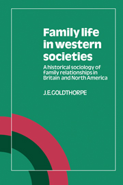 Family Life in Western Societies