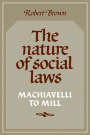 The Nature of Social Laws