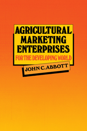Agricultural Marketing Enterprises for the Developing World