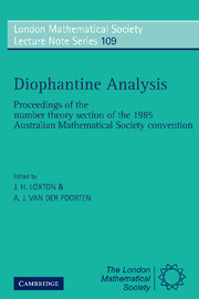 Diophantine Analysis