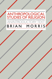 Anthropological Studies of Religion
