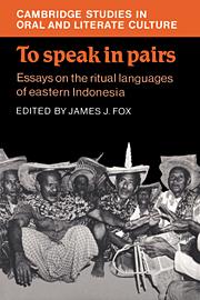 To Speak in Pairs